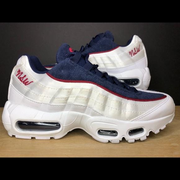lowest price 9bdaf 85331 Nike Air Max 95 LX NSW Satin Terry AA1103-100